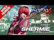 KOF XV|SHERMIE|Character Trailer -14 (4K)