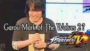 Yasuyuki Oda interview Garou Mark of The Wolves Sequel 19 march 2016 KOF XIV