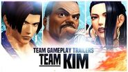 "KOF XIV - Team Gameplay Trailer 5 ""KIM"""