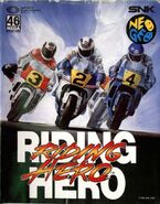 Riding Hero JP AES cover