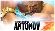 "KOF XIV - Team Gameplay Trailer 17 ""ANTONOV"""