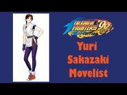 KOF '98 UM - Yuri Sakazaki- Move List + Story(Description Box Text)