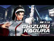 KOF XV CHIZURU KAGURA Character Trailer -7 (4K) 【TEAM SACRED TREASURES】