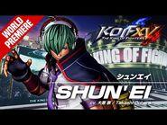 KOF XV|SHUN'EI|Character Trailer -1 (4K) 【TEAM HERO】-2