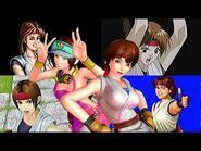 YURI SAKAZAKI Many super special moves (video game)