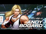 KOF XV ANDY BOGARD Character Trailer -8 (4K)【TEAM FATAL FURY】
