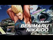 KOF XV BENIMARU NIKAIDO Character Trailer -3 (4K) 【TEAM HERO】
