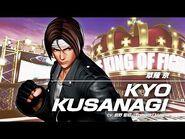 KOF XV KYO KUSANAGI Character Trailer -6 (4K)【TEAM SACRED TREASURES】