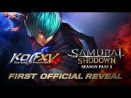 【ENG】First Official Reveal- KOF XV & SAMURAI SHODOWN