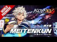 KOF XV|MEITENKUN|Character Trailer -2 (4K)【TEAM HERO】-2