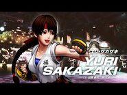 KOF XV YURI SAKAZAKI Character Trailer -9 (4K)