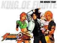 KOF EX2-Heroes Team