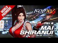 KOF XV|MAI SHIRANUI|Character Trailer -13 (4K)