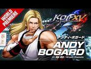 KOF XV|ANDY BOGARD|Character Trailer -8 (4K)【TEAM FATAL FURY】-2