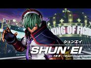 KOF XV SHUN'EI Character Trailer -1 (4K) 【TEAM HERO】
