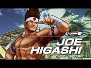 KOF XV JOE HIGASHI Character Trailer -5 (4K)【TEAM FATAL FURY】