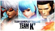 "KOF XIV - Team Gameplay Trailer 15 ""K´"""