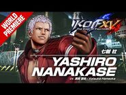 KOF XV|YASHIRO NANAKASE|Character Trailer -11 (4K)-2