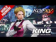 KOF XV|KING|Character Trailer -12 (4K)