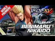 KOF XV|BENIMARU NIKAIDO|Character Trailer -3 (4K) 【TEAM HERO】-2