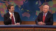 John McCain and Seth Meyers Weekend Update 2008