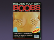 Holding your own boobs magazine commerical pardoy sketch