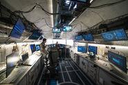 Snowpiercer control room
