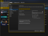 Enabling the Steam Overlay