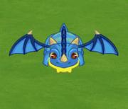 Dragoncito azul social wars