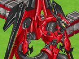Dragón de mercurio rojo