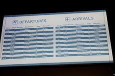 A list of locations which Disney Springs' airlines connected to