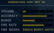 SOCOM HK5 SD Stats