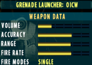 SOCOM II OICW Stats Extras
