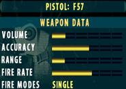 SOCOM II F57 Stats Extras