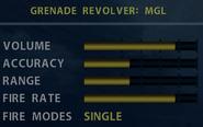 SOCOM MGL Stats