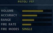 SOCOM F57 Stats