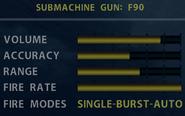 SOCOM F90 Stats