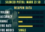SOCOM II Mark 23 SD Stats Extras