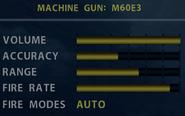 SOCOM M60E3 Stats