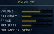 SOCOM M9 Stats