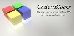 Screenshot of CodeBlocks.
