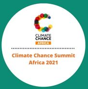 Climate Chance Summit Africa logo, 9-7-21