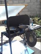 Hybrid gas -solar stove by Clement Musonda, 8-26-21