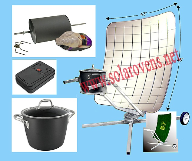Giant Parabolic Cooker