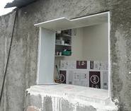 Wall oven concept in const. Komarizade, 6-24-20