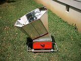 Grill solarny skrzynkowy