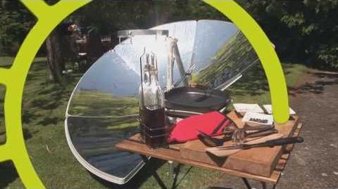 Four solaire révolutionnaire SOLARIO COOKER de chez FOCALIS-2