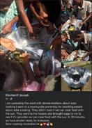Eliesheriff Joseph hosts demonstration in Haiti, 10-11-21