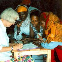 Barbara Knudson at refugee camp.jpg