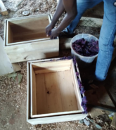 Solar box cooker production 3, Farmers With a Vision, 10-8-21